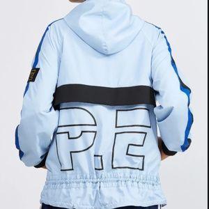 P.E Nation Man Down Blue Windbreaker Jacket
